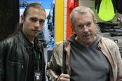 SL и Андрей Макаревич (нажмите для увеличения)