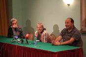 Пресс-конференция Андрея Макаревича (нажмите для увеличения)