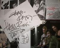 Автограф Дианы Арбениной для нас
